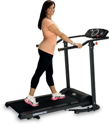 Exerpeutic TF1000 High Capacity Walk to Fit Electric Treadmill with Pulse